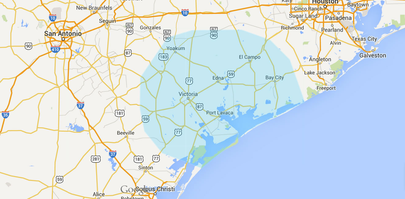 Map Of Texas Victoria.Pest Control Company Victoria Texas